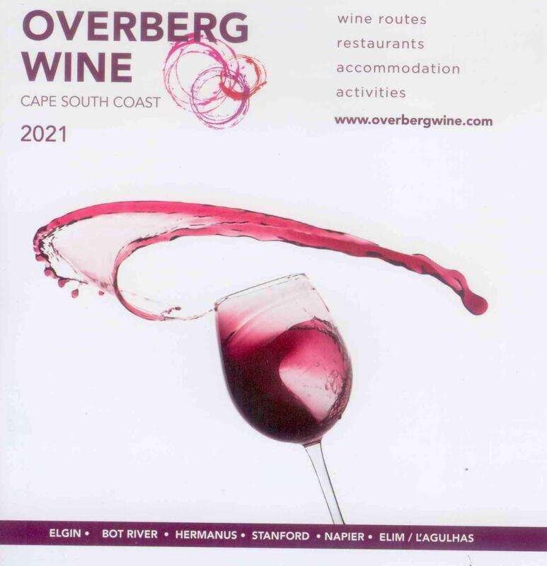 New 2020 Overberg Wine Booklet is out, Hermanus wine region, near Cape Town, South Africa