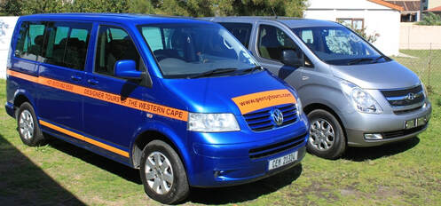 Hermanus Wine and Food Festival transfer services in luxury minibuses, with Chauffeur Tour Guides